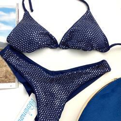 ✨Imperia Triangolo✨ New collection 2021♥️ Tre colorazioni disponibili: blue, nudo satin , black. Shop: www.bikinimania.it
