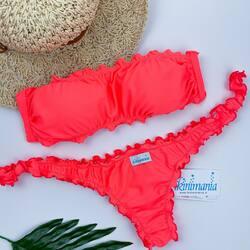 Nuovo colore in casa Bikinimania✨ Il must di quest'estate è lui : Granatina È disponibile in tantissime versioni ; sbizzarritevi su www.bikinimania.it creando i vostri abbinamenti❤️